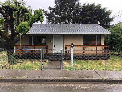 Willits Single Family Home For Sale: 190 East Oak Street