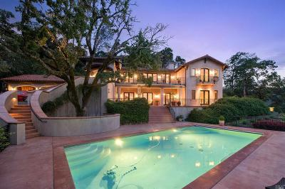Napa County Single Family Home For Sale: 2470 Spring Mountain Road