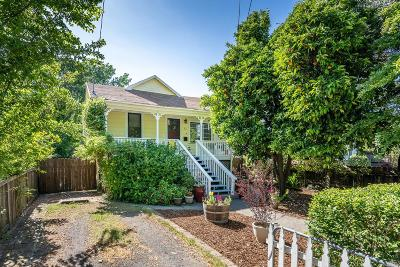 Healdsburg Single Family Home For Sale: 13 Ward Street