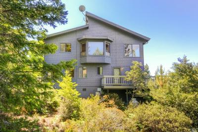 Mendocino County Single Family Home For Sale: 35015 Rhododendron Road