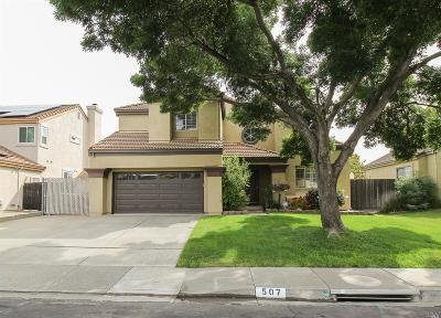 Vacaville Single Family Home For Sale: 507 Youngsdale Drive