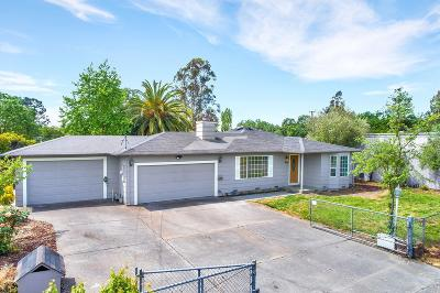 Sonoma County Single Family Home For Sale: 1450 South Wright Road