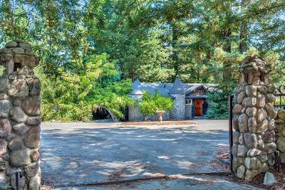 Sebastopol Single Family Home For Sale: 6050 Vine Hill School Road