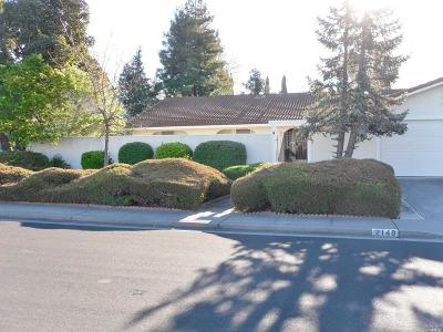 Fairfield Single Family Home Contingent-Show: 2148 Monterey Drive