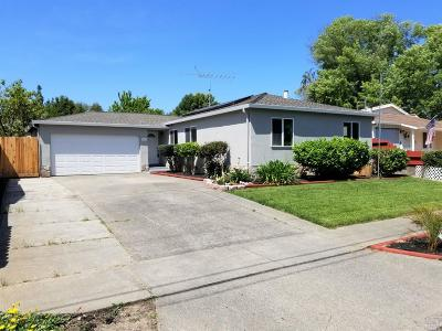 Napa Single Family Home For Sale: 3661 Norfolk Street