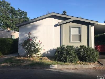 Sonoma Mobile Home For Sale: 21 Rancho Drive #21