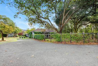 Glen Ellen Single Family Home For Sale: 15265 Arnold Drive