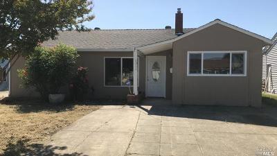 Fairfield Single Family Home For Sale: 1311 Wilson Street