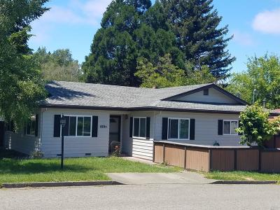 Mendocino County Multi Family 2-4 For Sale: 410 Redwood Avenue