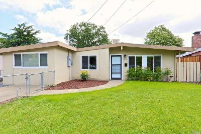 Ukiah Single Family Home For Sale: 1527 Elm Street