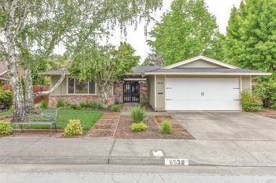 Santa Rosa CA Single Family Home For Sale: $895,000