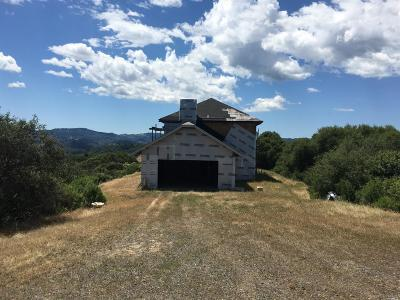 Mendocino County Residential Lots & Land For Sale: 5370 Lake Ridge Road