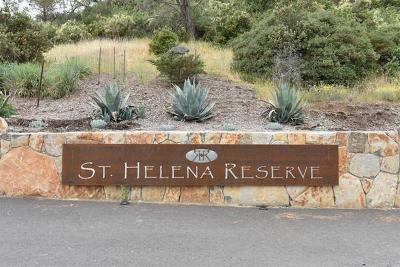 St. Helena Residential Lots & Land For Sale: 1 Reserve Road