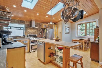 Marin County Single Family Home For Sale: 135 Tamalpais Road