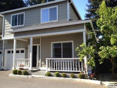 Napa Single Family Home For Sale: 8 Wise Court