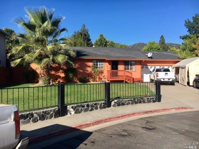 Ukiah Single Family Home For Sale: 34 Creekside Court