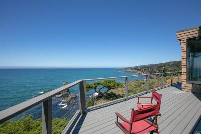 Gualala CA Single Family Home Contingent-Show: $1,050,000