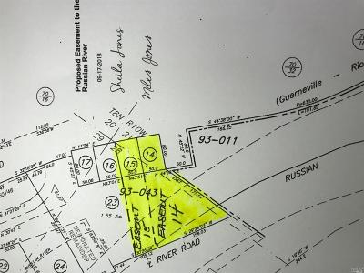 Guerneville Residential Lots & Land For Sale: 14795 River Road