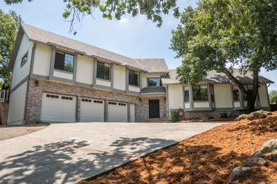 Single Family Home For Sale: 4734 Annadel Heights Drive