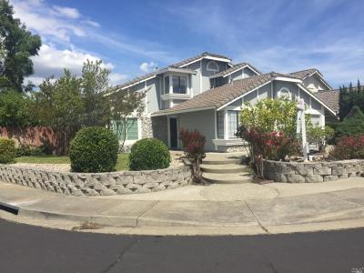 Fairfield CA Single Family Home For Sale: $459,900