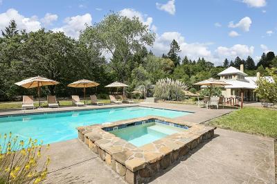 Healdsburg Single Family Home For Sale: 7775 Mill Creek Road