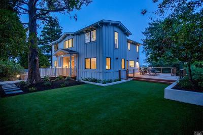 Mill Valley Single Family Home For Sale: 115 Highland Lane