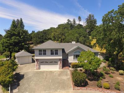 Healdsburg Single Family Home For Sale: 513 Greens Drive