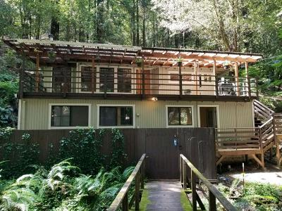 Guerneville Single Family Home For Sale: 19350 Hidden Valley Road