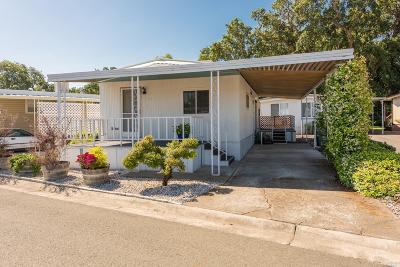 Sonoma County, Marin County, Mendocino County, Lake County, Napa County Mobile Home For Sale: 94 Colonial Park Drive #94