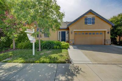 Vacaville Single Family Home For Sale: 848 Hampton Street