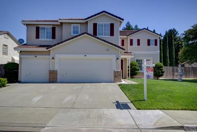 Vacaville Single Family Home For Sale: 461 Gatehouse Drive