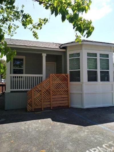 Napa Mobile Home For Sale: 6004 Monticello Road #59, 59