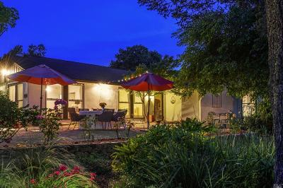 Sonoma Single Family Home For Sale: 17600 Sunset Way