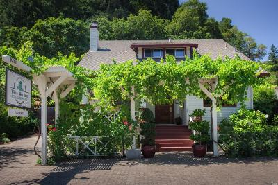 Calistoga Single Family Home For Sale: 1019 Foothill Boulevard