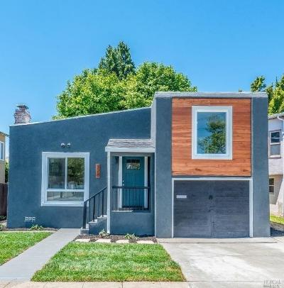 Vallejo Single Family Home For Sale: 328 Wallace Avenue