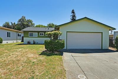 Fairfield Single Family Home Contingent-Show: 1838 San Benito Street