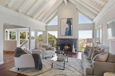 San Anselmo Single Family Home For Sale: 2 Fox Lane