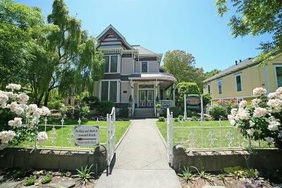 Napa Single Family Home For Sale: 1727 Main Street