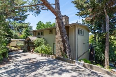Mill Valley Single Family Home For Sale: 61 North Knoll Road