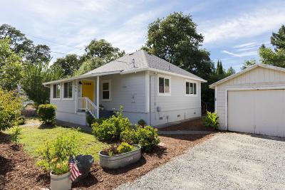 Sonoma Single Family Home For Sale: 595 Solano Avenue