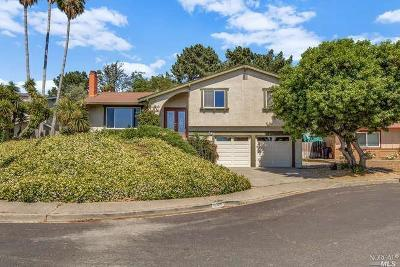 Benicia CA Single Family Home For Sale: $580,000
