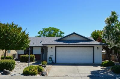 Vacaville Single Family Home For Sale: 118 Carlsbad Circle