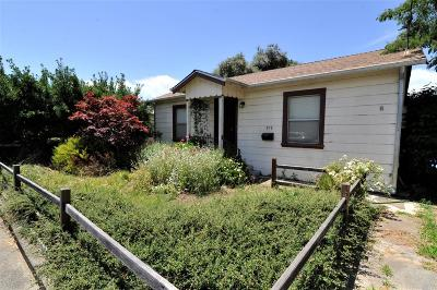Healdsburg Single Family Home For Sale: 819 Center Street