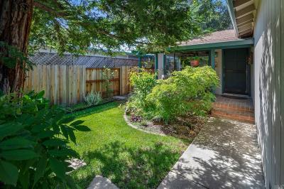 Sonoma Single Family Home For Sale: 935 Donald Street