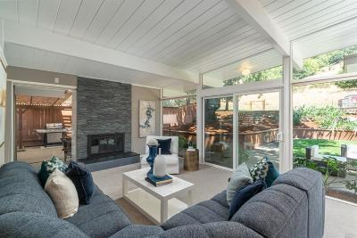 San Rafael Single Family Home For Sale: 810 Idylberry Road