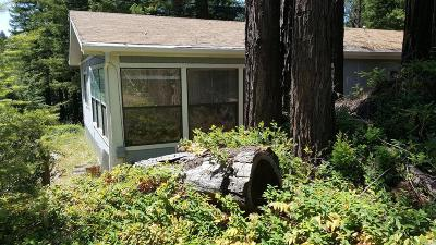 Mendocino County Single Family Home For Sale: 19995 Mountain View Road