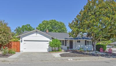 Napa Single Family Home For Sale: 394 Webber Street