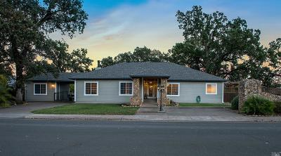 Lake County Single Family Home For Sale: 21339 Valley Oak Drive