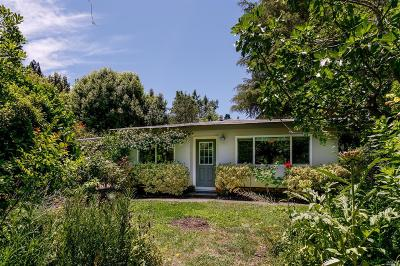 Guerneville Single Family Home For Sale: 16600 Center Way