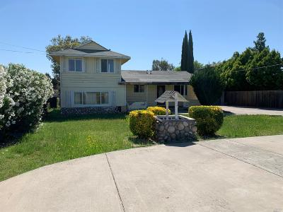 Vacaville Single Family Home For Sale: 7606 Putman Road